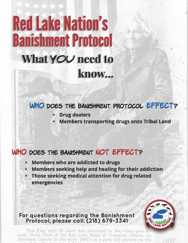 Red Lake Nation Banishment Protocol