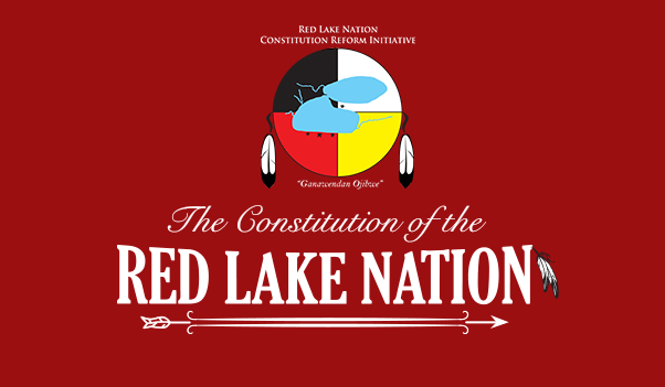 The Constitution of the Red Lake Nation