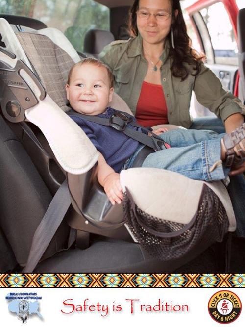 Woman_Baby_Car_Seat