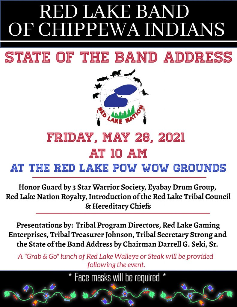 2021 RL NATION STATE OF THE BAND ADDRESS